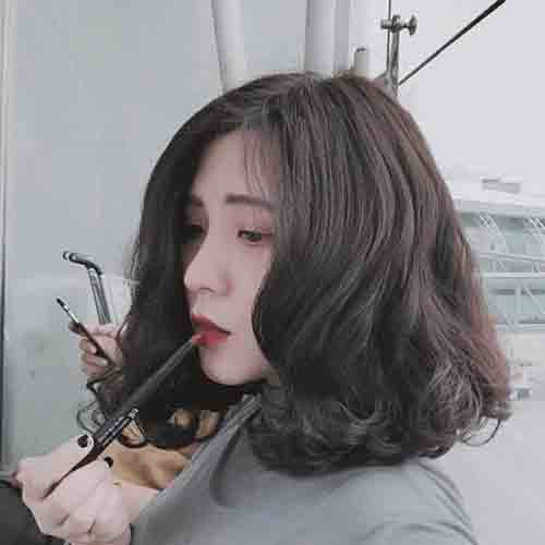 Xu hướng kiểu tóc đẹp cho mặt tròn to giúp nàng che khuyết điểm