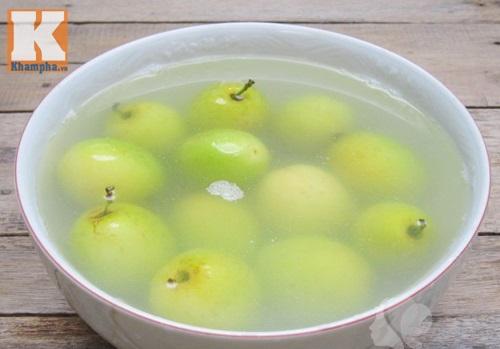 cách làm mứt táo xanh ngon dẻo 4