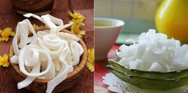 cách làm mứt dừa sợi thơm ngon