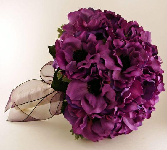 Xiêu lòng với những bó hoa sinh nhật màu tím cho cô nàng lãng mạn