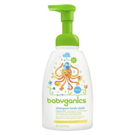 Sữa tắm cho trẻ sơ sinh loại nào tốt?