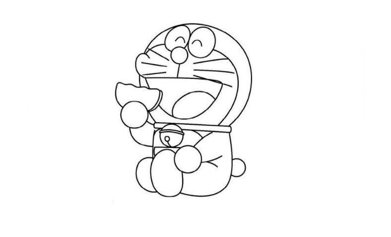 Tuyển chọn bộ tranh tô màu Doremon ngộ  nghĩnh, dễ thương nhất