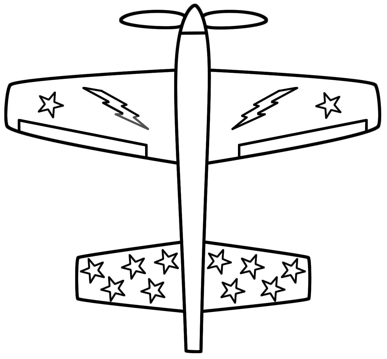 Chọn lọc tranh tô màu máy bay trực thăng cho bé 3- 4 tuổi