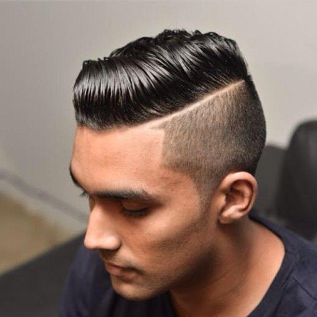Kiểu tóc nam Undercut Hard Part