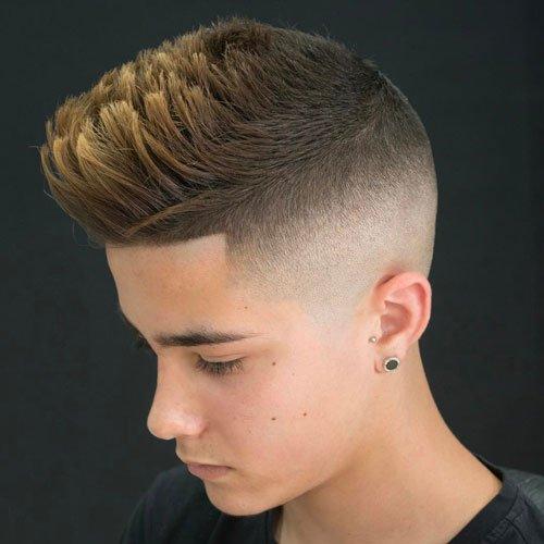 Kiểu tóc nam Undercut High Fade