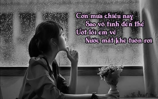 Chia sẻ chùm stt tâm trạng con gái buồn khi yêu, khi chia tay hay nhất