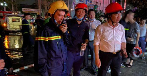 [HOT] Cháy lớn tại tòa nhà Dầu khí Thanh Hóa gây hậu quả nặng nề