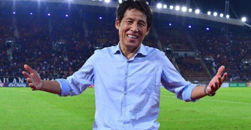 HLV Nishino đã giúp Thái Lan làm nên trận đấu lịch sử