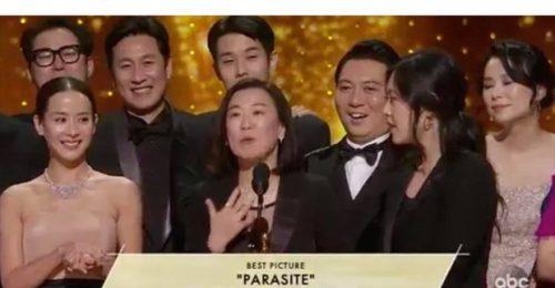 """Dàn sao Hàn – Việt vỡ òa khi phim """"Ký sinh trùng"""" làm nên lịch sử tại Oscar"""