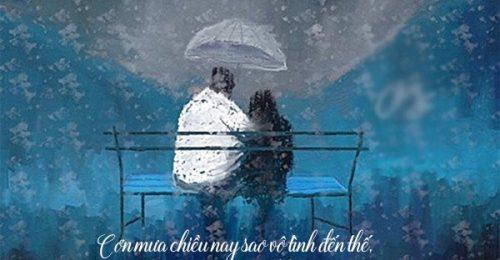 101+ Stt mưa nhớ người yêu thấu tâm can sâu sắc nhất
